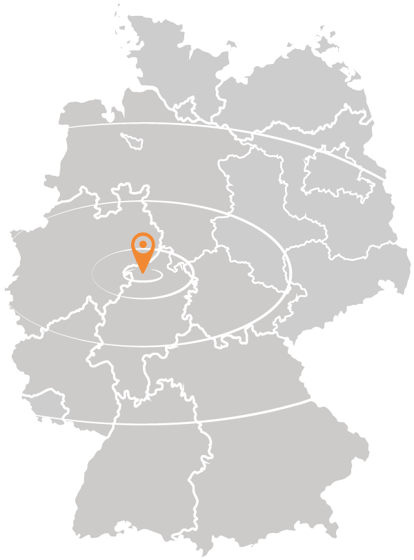 Standort Holzpelletwerk Prinz-Eugen-Energiepark auf Deutschlandkarte